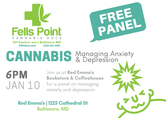 Managing Anxiety & Depression with Medical Cannabis