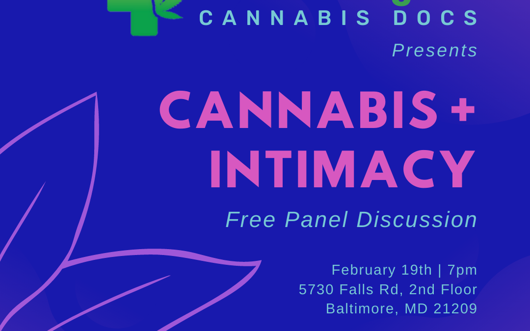 Cannabis and Intimacy event in Baltimore MD