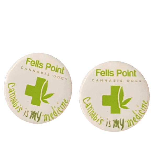 Free Baltimore Cannabis Buttons