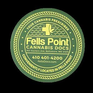 Free Baltimore Cannabis Sticker