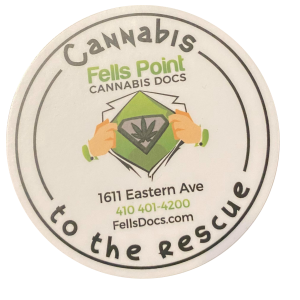 baltimore cannabis doctor sticker