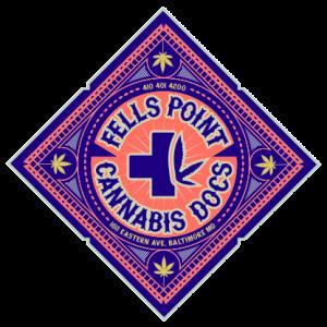 Fells Point Cannabis Docs Sticker