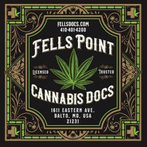 fells point cannabis docs medical marijuana baltimore maryland sticker